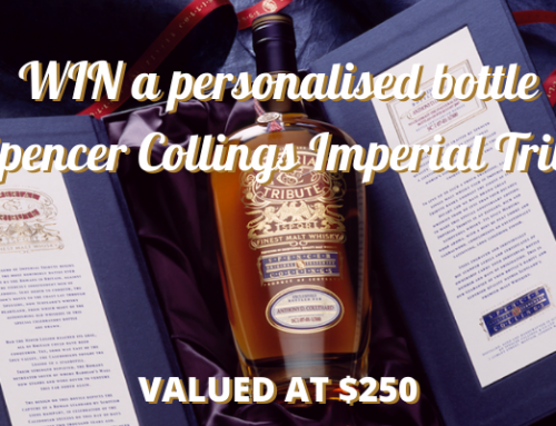 WIN a personalised bottle of Imperial Tribute